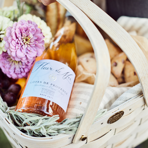 Fleur ed Mer Bread Basket